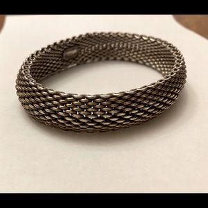Tiffany & Co 925 Somerset Mesh bracelet
